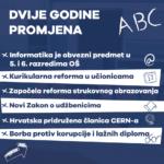 Dvije godine najbolje ministrice Blaženka Divjak u Vladi RH.