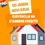 Subvencija na stambene kredite