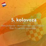 Dan pobjede, domovinske zahvalnosti, Dan hrvatskih branitelja i VRO Oluja